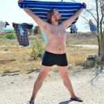 09. Веталь принимает солнечные ванны