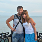 11. Женька с женой Катей